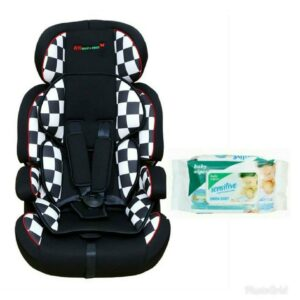Harry & Honey High Back Baby Car Seat Lb50015 Black-White