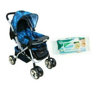 Harry & Honey Baby Stroller 8585 Blue