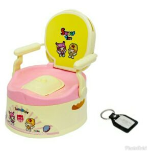 Harry & Honey Baby Potty Seat A+B 1803 Pink With Key Chain