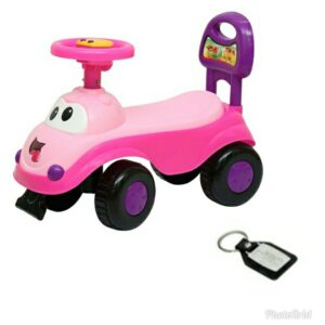Harry & Honey Baby Toy Car HH 5851 Pink With Key Chain
