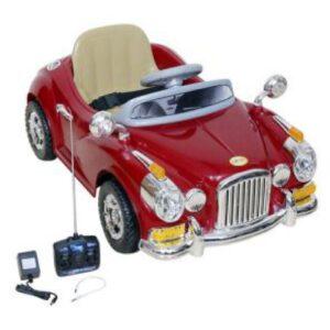 Wheel Power Vintage Toy Car 1828 Maroon