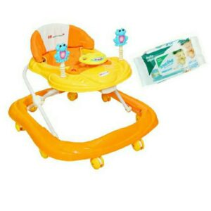 Harry & Honey Baby Musical Walker Orange With Key Chain