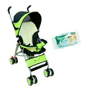 Harry & Honey Baby Pram 88 Green With Key Chain