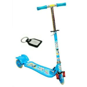 Wheel Power Front Suspension Baby Scooter Blue Key Chain