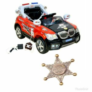 Wheel Power Battery Operated Ride On Car 20x8 Red-Black With Fidget