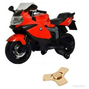 Wheel Power BMW Baby Bike 283 Red 12v With Fidget