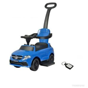 Wheel Power Mercedes Ride On Car Blue With Fidget