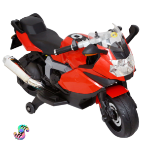Wheel Power Baby Battery Operated Ride on Fun Bike Red With Fidget