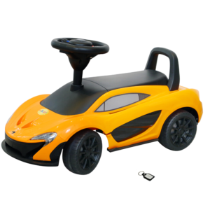 Wheel Power Mclaren Ride On Car 372 orange With KEY CHAIN