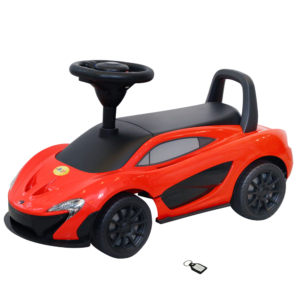 Wheel Power McLaren Ride on Car Red With key chain
