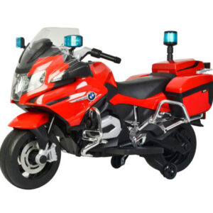 Wheel Power Baby Battery Operated BMW Police Bike Red with Fidget